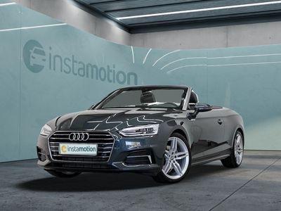 gebraucht Audi A5 Cabriolet A5 2.0 TFSI DESIGN NAVI+ VC LM19 LEDER DAB+