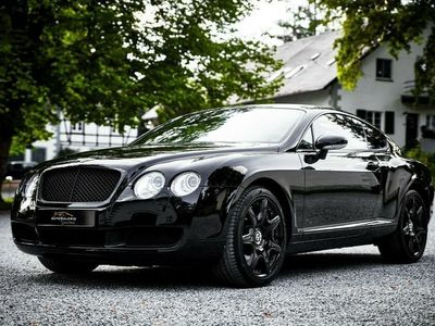 gebraucht Bentley Continental GT *2.Hand *Schwarz/Schwarz *Traum