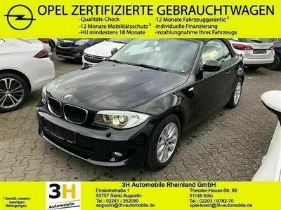 gebraucht BMW 120 Cabriolet d Xenon*Navi*M-Paket*Allwetter*