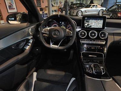gebraucht Mercedes C63 AMG C-KlasseAMG S T Distronic 360 Night ILS TV Panorama