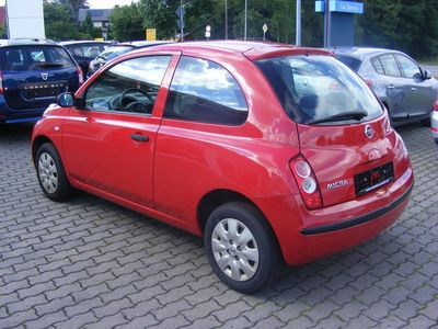gebraucht Nissan Micra Visia 1,2 65PS *Klima*Radio