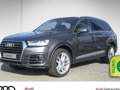 gebraucht Audi Q7 50 TDI qu.3x S-line HD Matrix LED Luftfederung Virtual Cockpit Head-Up uvm Service