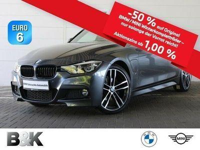 gebraucht BMW 330e M Sport LED Navi HUD GSD Sportpaket Klima