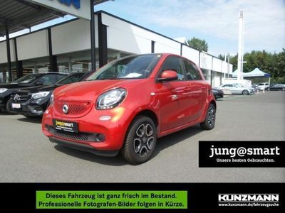 gebraucht Smart ForFour turbo Passion Cool&Audio Pano SHZ 66KW