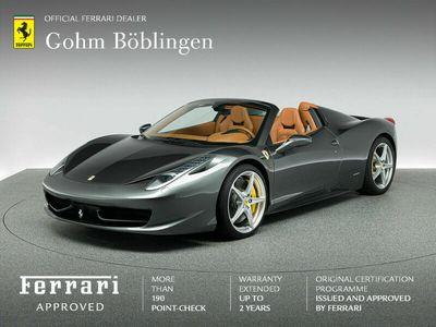 gebraucht Ferrari 458 Spider als Cabrio/Roadster in Böblingen