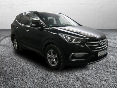 gebraucht Hyundai Santa Fe blue 2.2 CRDI 4WD Automatik Premium Gesc