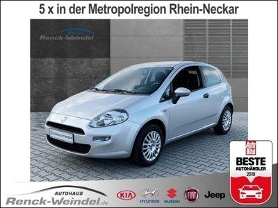 gebraucht Fiat Punto Pop 1.2 8V NR RDC Klima SHZ Temp ESP Spieg. beheiz