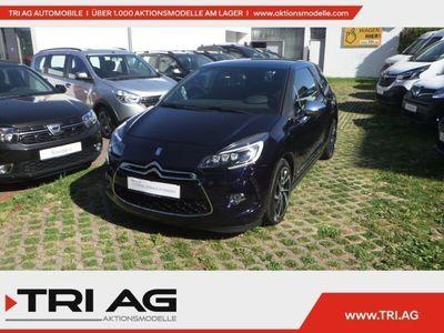 gebraucht Citroën DS3 SportChic 1.6 THP 165 Navi Rückfahrkam. LED-hinten LED-Tagfahrlicht Multif.Lenkrad