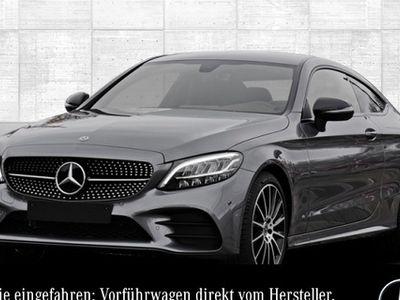gebraucht Mercedes C200 Coupé AMG LED NAVI Kamera NightP SpiegelP