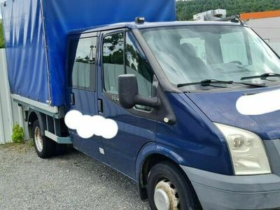 gebraucht Ford Transit Pritsche FT 350 M Doppelkabine