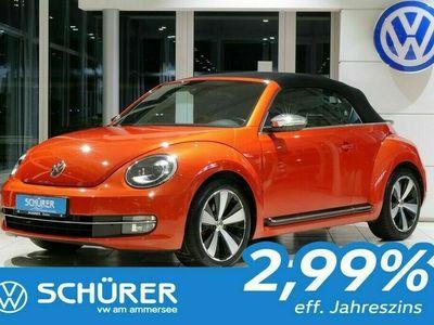 gebraucht VW Beetle Cabrio 2.0TSI DSG Sport Bi-Xen Navi Leder Kamera
