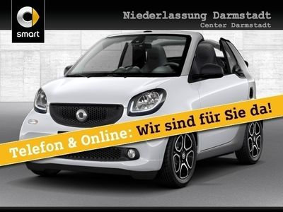 gebraucht Smart ForTwo Cabrio 66kW passion DCT cool&Media SHZ LED