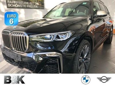 gebraucht BMW X7 M50d SkyLounge Laser ACC AHK 22 Zoll HUD Navi