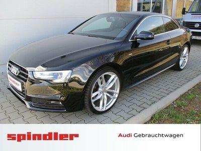 gebraucht Audi A5 2.0 TDI quattro S-Line - 1.Hd Navi AHK Xenon