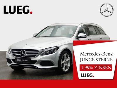 gebraucht Mercedes C350e T Avantgarde+LED+AHK+Navi+Airmatic+PDC