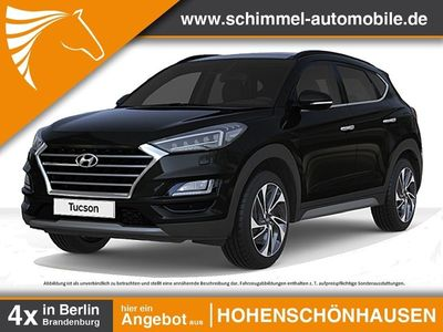 gebraucht Hyundai Tucson 1.6 TGDi Premium 7DCT Lederpak. ASCC Pano