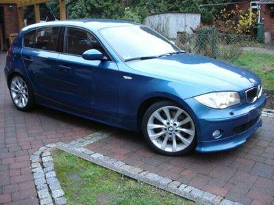 gebraucht BMW 130 i, AHK, So + Wi auf Alu, M paket TOP
