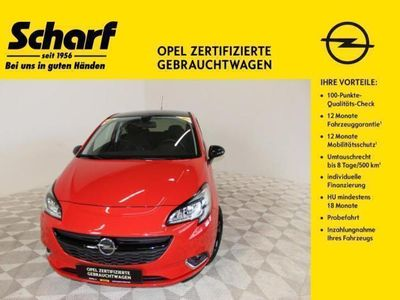 gebraucht Opel Corsa E Color Edition Intelli Klima SHZ PDC