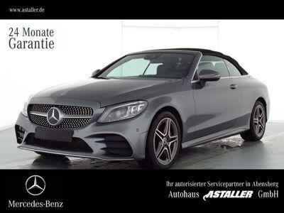 gebraucht Mercedes C300 4M Cabrio AMG+Navi+Multib.+RFK+Cabrio Komf