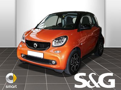 gebraucht Smart ForTwo Coupé 66 kW turbo twinamic PanoDach/Sitzh
