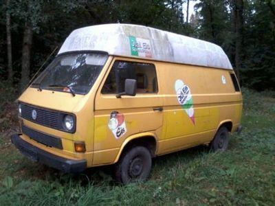verkauft vw t3 postbus eiswagen gebraucht 1987. Black Bedroom Furniture Sets. Home Design Ideas