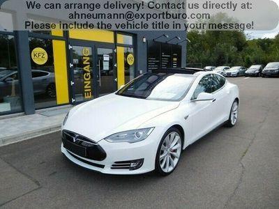 """gebraucht Tesla Model S P85D PANORAMA 7SITZE 1HAND 21"""""""