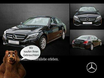 gebraucht Mercedes C220 d AVANTGARDE Exterieur/ Interieur Navi/LED
