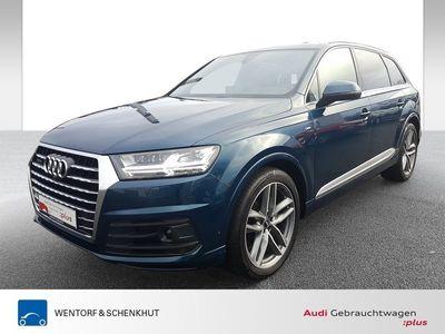 gebraucht Audi Q7 50 TDI quattro tiptronic 2xS-line HD-Matrix Luft U