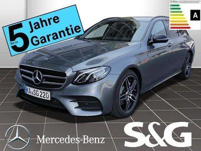 gebraucht Mercedes E300 T AMG-Line LED/Rückfahrka/Navi/Widescree