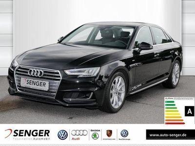 gebraucht Audi A4 2.0 TDI S line LED Navi DAB Tempomat Sitzhzg.