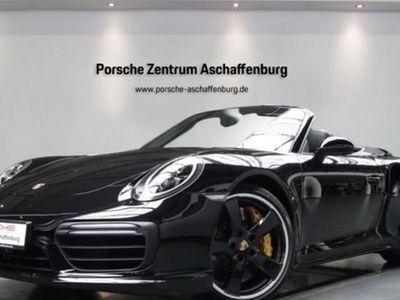 gebraucht Porsche 911 Turbo S Cabriolet 991 LEDschwarz Abstand Classic