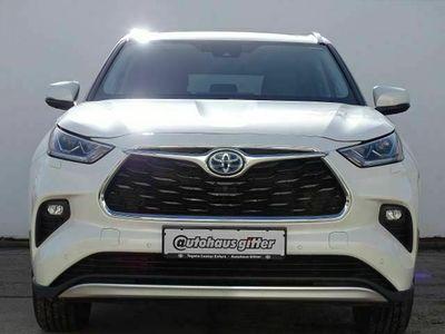 gebraucht Toyota Highlander Hybrid 4x4 Luxury PANORAMA HEAD-UP
