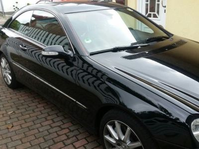 gebraucht Mercedes CLK320 Coupe CDI Avantgarde Leder,Navi