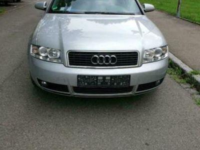 gebraucht Audi A4 B6 Silber Benziner