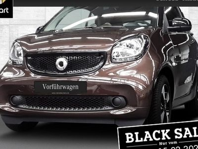 gebraucht Smart ForTwo Coupé 66kW perfect DCT cool&Audio SHZ Pano