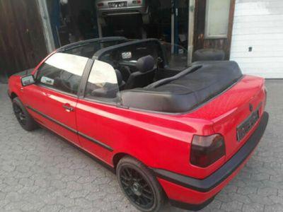 used VW Golf Cabriolet *KD neu,8-fach bereift,TÜV*