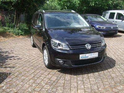 gebraucht VW Touran CUP 1.6 TDI BMT, Van Navi Sitzheizung, AHK, Tempomat