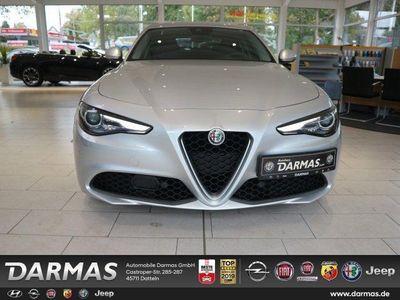 gebraucht Alfa Romeo Giulia SUPER 2.2 A/T DIESEL NAVI TEILLEDER 18 ALU DAB LHZ