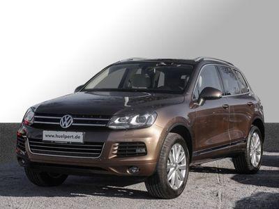 gebraucht VW Touareg 3.0 TDI V6 Tiptronic Xenon Leder Navi Alu (Einpark