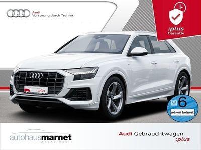 gebraucht Audi Q8 50 TDI quattro S line Navi LED DVD B&O HUD Panorama Rückfahrkamera Standh.