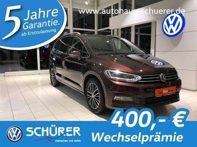 gebraucht VW Touran Highline 1.8TSI DSG LED|Pano|KiSi|7Sitzer
