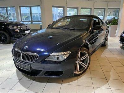 gebraucht BMW M6 Cabriolet Bluetooth HUD Navi Xenon Vollleder PDC