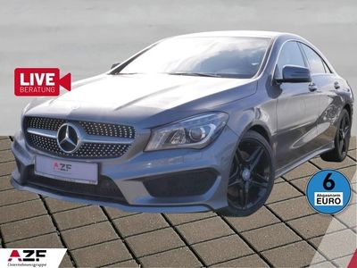 gebraucht Mercedes CLA220 d CDI DCT AMG Line Navi+Xenon+SHZ
