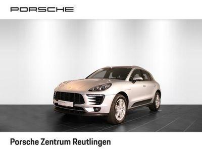 gebraucht Porsche Macan S Abstandsregeltempostat + Luftfederung