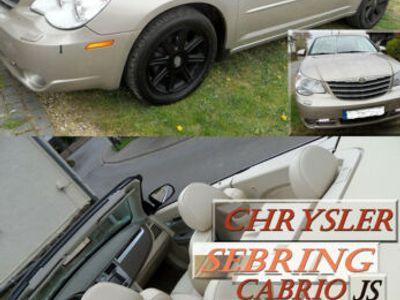 gebraucht Chrysler Sebring Cabriolet VOLL 2.7 Automat Limited Hardtop