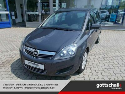 gebraucht Opel Zafira B Family 1.8 Navi Multif.Lenkrad NR Kniea