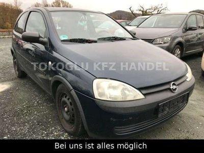 gebraucht Opel Corsa C Selection 1,0 LITER
