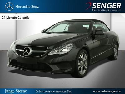 gebraucht Mercedes E200 E-KlasseCabriolet Park-Assist Airscarf LED