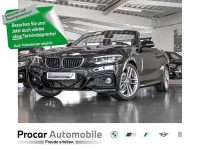 gebraucht BMW 220 d Cabrio M-Sport Prof