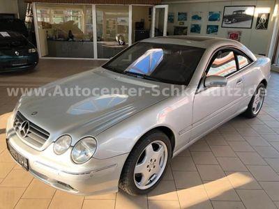 "gebraucht Mercedes CL600 Klimaaut. Leder Alu AMG 18"""